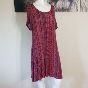 🌹3/$24🌹NEW DIRECTIONS RAYON SOFT TEE DRESS